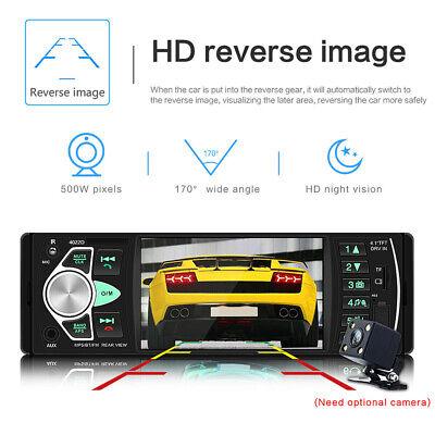 1Din Autoradio Mit Bildschirm Display Video Monitor Bluetooth Freisprech Usb Sd 7