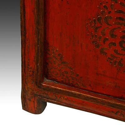 Rare Antique Buddha Stand Altar Painted Pine Tibet Chinese Furniture 19Th C. 7