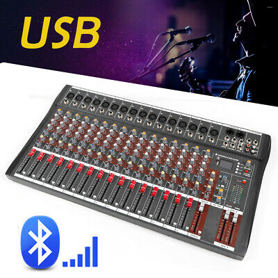 4000 Watt 16 Channel Professional Mixer power Sound mixing Console Audio Live DJ 3