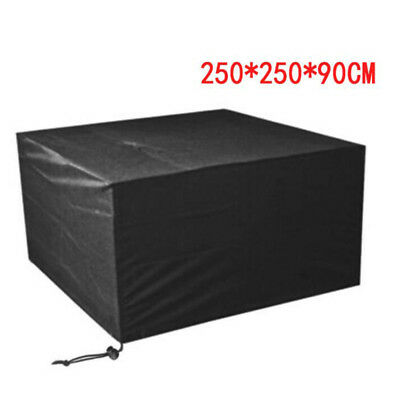 Waterproof Garden Patio Furniture Cover Covers Table Sofa Bench Cube Outdoor UK 7