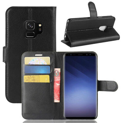 Wallet Leather Cardholder Flip Case Cover For Samsung Galaxy S8 S9 S10 S10E Plus 4