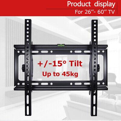 "Universal Tilt TV Wall Mount Bracket SONY SAMSUNG LG Panasonic 26""-55""LED LCD 3D 5"