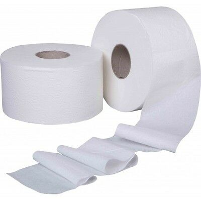 Mini Jumbo Toilet Roll (12 Rolls) FREE NEXT DAY DELIVERY BUY 2 GET 10% OFF 2