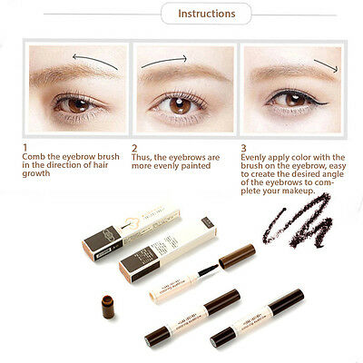 BY NANDA Long Lasting Eyebrows Tint Coloring Pencil Brush ...