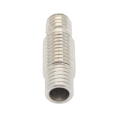2x Tube M6/M7x22 inox avec PTFE pour extrudeur E3D v6  - 1.75mm bowden RepRap