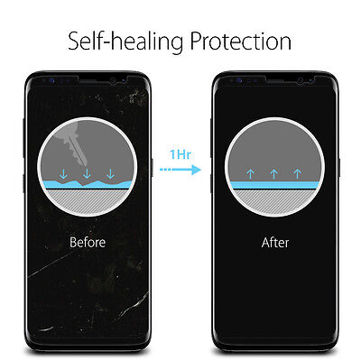 [2PK OR 3PK] Galaxy S8 / S8 Plus Spigen® [Neo Flex] Film Screen Protector 4