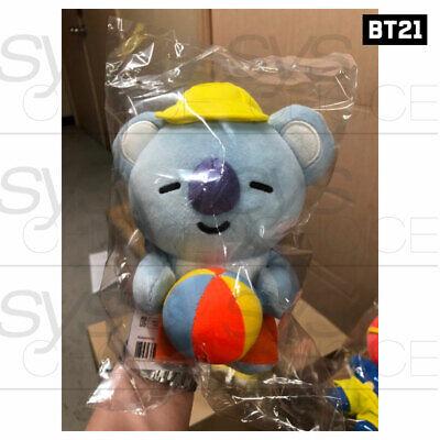 BTS BT21 Official Authentic Goods Von Voyage Summer Doll 15cm 5.9in + Tracking# 6