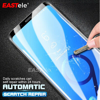 3x EASTele HYDROGEL AQUA Screen Protector Samsung Galaxy S10 S9 S8 Plus Note 9 5