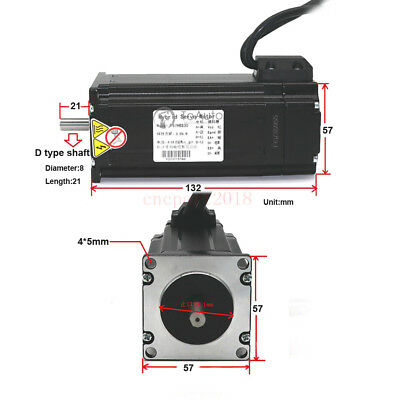 4Axis 3NM Closed Loop Stepper Drive Kit Nema23+CNC Controller+DC Power+Handwheel 4