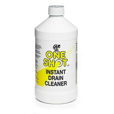 One Shot Drain Cleaner 1 Litre (Twin Pack) 2 Litres 2