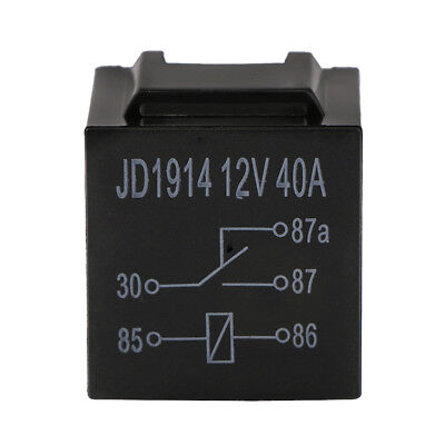 Waterproof Car 5Pin 40//100A Long Life Automotive Relay Normally Open DC 12 E6I5