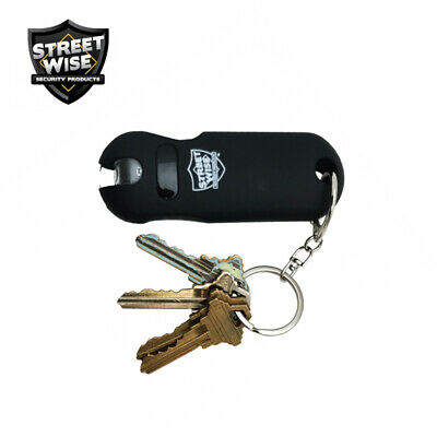Streetwise SMART Keychain Stun Gun 24,000,000 w/Battery Status Indicator - Black 4