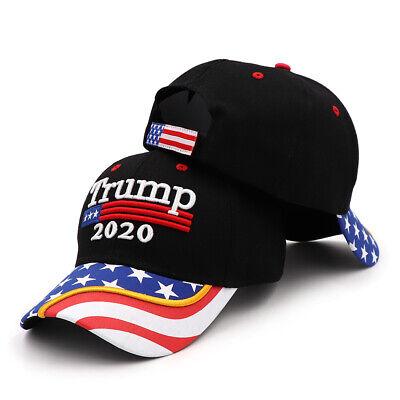 President Donald Trump 2020 USA Flag Baseball Cap Hat Make America Great Forever 6