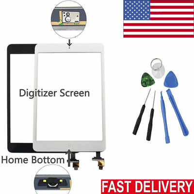 OEM For iPad 2 3 4 Air Mini 1 2 3 Touch Screen Digitizer Replacement w/ Adhesive 9