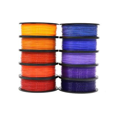 3D Printer PLA Filament 1kg/2.2lb 1.75mm For FDM Imprimante 3D Black White Grey 2