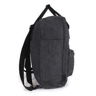 026dadd414fd6 ... Stern Rucksack Shopper Schul Tasche Canvas Jeans Stoff Schwarz Schulter  Backpack 5