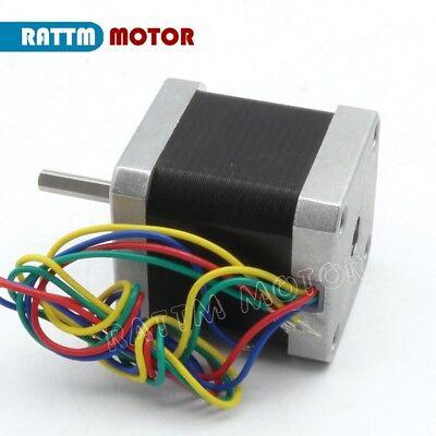 【EU Stock】 5Pcs Nema17 Stepper Motor 78oz-in 48mm 1.8A for 3D Printer CNC Robot 4
