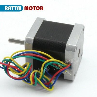 【EU Stock】10Pcs Nema17 Stepper Motor 78oz-in 48mm for Mill CNC Router/3D Printer 4