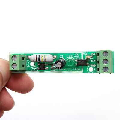 for PLC AC 220V 1-Bit Optocoupler Isolation Module Voltage Detect Board Adaptive 4