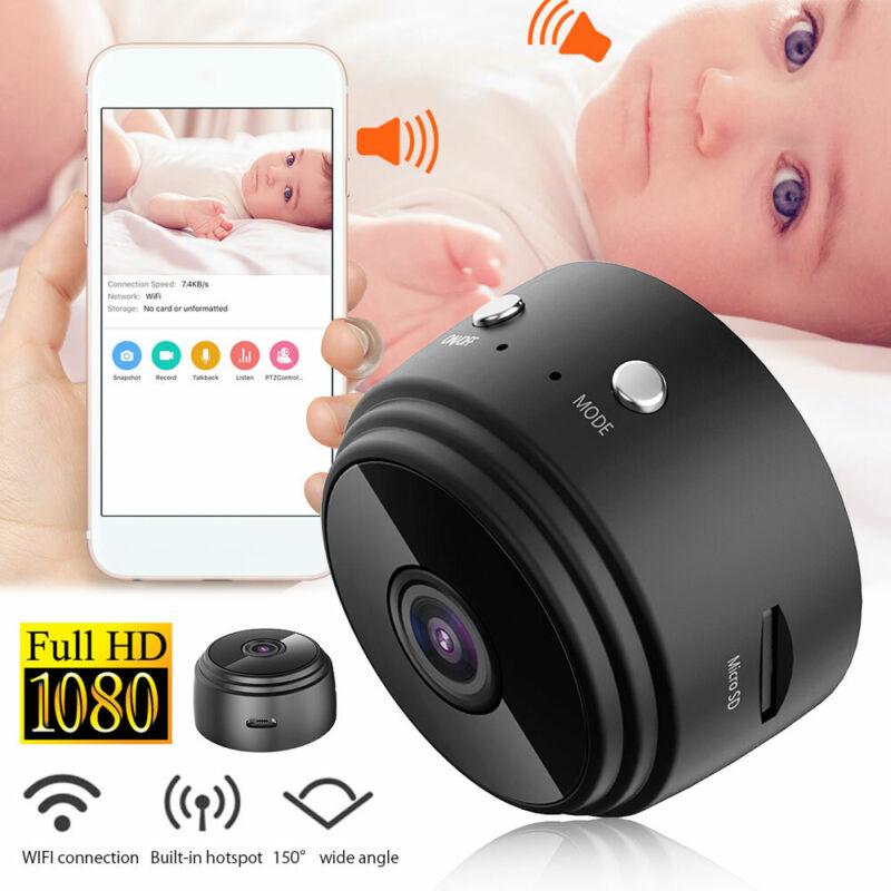 Mini Wifi Caméra Sans fil IP Cachée Espion Caché Vision Nuit Sécurité Chambre PA 4