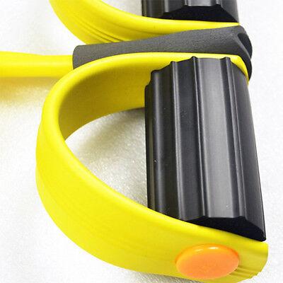 Attrezzo Elastico Pilates Fitness Pull X Esercizi Allena Braccia Gambe Spalle 5