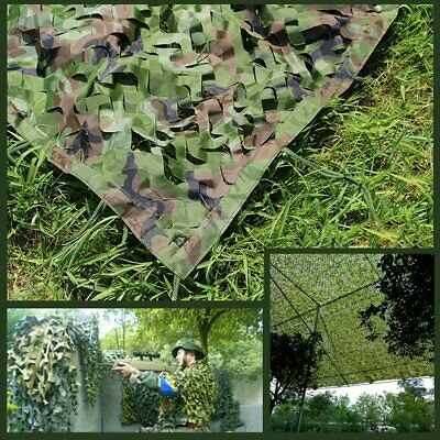 10Mx1.5M Camouflage Net Camo Hunting Shooting Hide Army Camping Woodland Netting 4