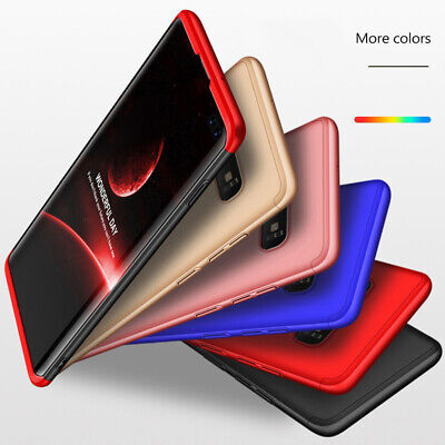 Thin Shockproof Slim Case + Screen Protector For Samsung Galaxy S10/S9/S8 Plus 9