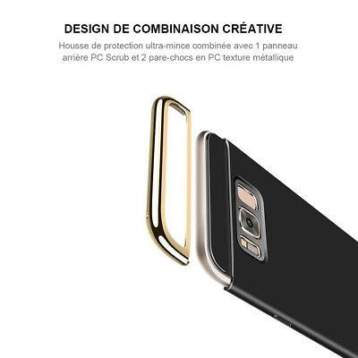 Hybride Housse Coque Samsung S8 S9 Plus S7 S6 Edge A3 A5 A7 A8 J3 J5 J7 Note 8 10