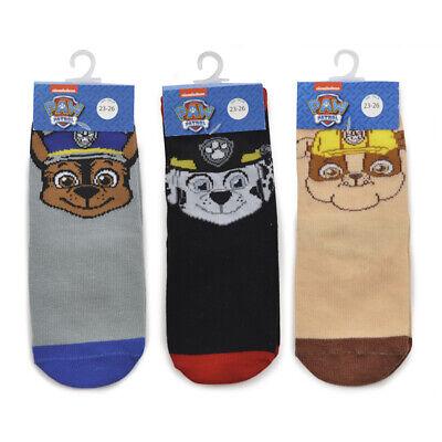 Kids 3 Pack Of Character Socks Boys Girls Disney Ankle School Socks 3 Pairs Size 6