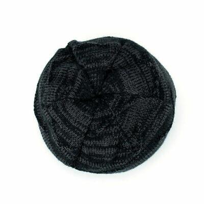 Spikerking Men's Soft Lined Thick Knit Skull Cap Warm Winter Slouchy Beanies Hat 5