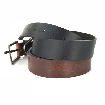New Quality Genuine Full Grain Leather Classic Mens Jeans Belt Aussie Seller 3