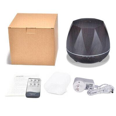 500ml Essential Oil Aroma Diffuser LED Ultrasonic Air Mist Aromatherapy AU Plug 9