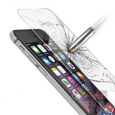Pellicola vetro temperato X iPhone 4/5/5s/6/6s/7/8/X/SE/Plus protezione SCHERMO 2
