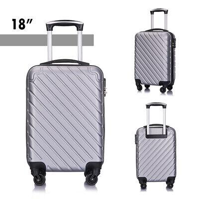 4 Piece Nested Travel Luggage Set Lightweight Suitcase Spinner Hardshell w/Lock 6