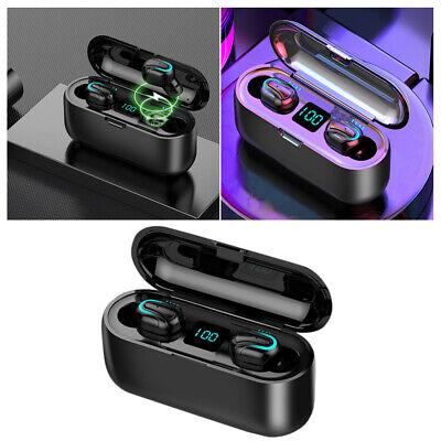 Q32 Auriculares Bluetooth 5.0 TWS Inalambricos 5D Con Caja De Carga Cascos y Mic 5