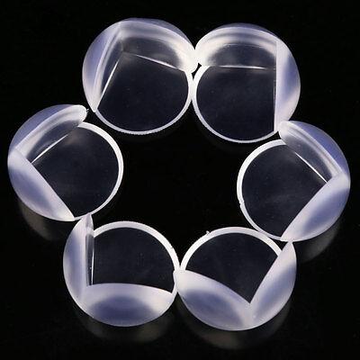 10 Paraspigoli PARA SPIGOLI silicone protezione angoli tavolo bambino bambini 3