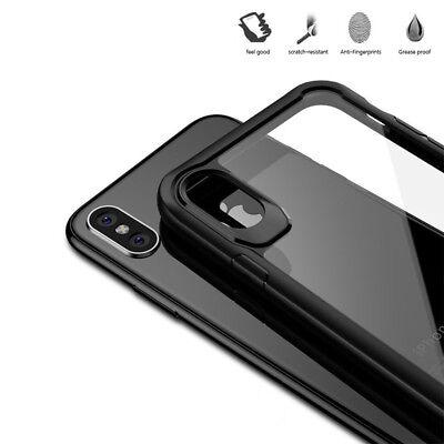Coque Housse Protection Pour iPhone X/6/6S/Plus/7/8 XR XS MAX Rigide Antichoc 9