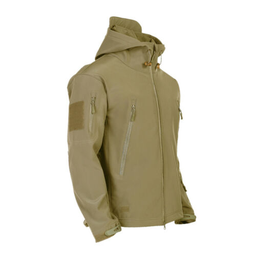 4deb82ac15f4 Outdoor Waterproof Mens Jacket Tactical Winter Coat Soft Shell Military  Jackets 12 12 sur 12 Voir Plus