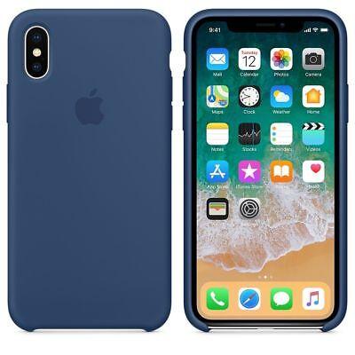 Genuine Original Silicone Case Cover For Apple iPhone X XR XS Max 7 8 6 6S Plus 10