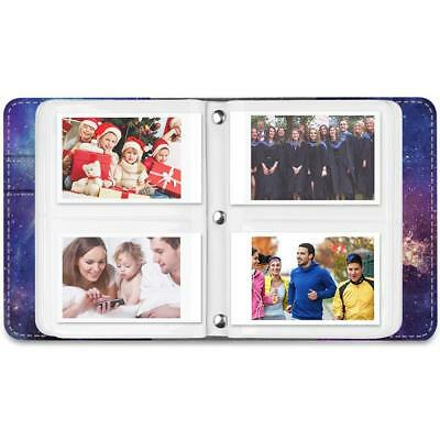 Mini Photo Album 104 Pockets For Fujifilm Instax Mini 8/9 Mini 90/25,HP Sprocket 3