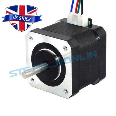 1~5PCS Nema 17 Stepper Motor 45Ncm 1.5A 39mm 4 Wires w/ 1m Cable for 3D Printer 3