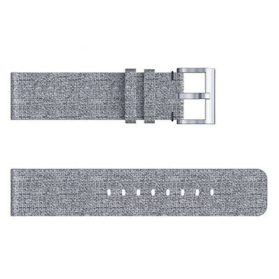 Woven Fabric Strap Wrist Band for Fitbit Versa Tracker w/ Stainless Metal Clasp 5