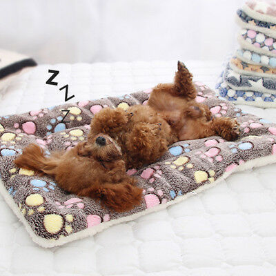 Dog Cat Puppy Pet Plush Blanket Mat Warm Sleeping Soft Bed Blankets Supplies 6