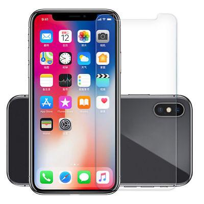 Cover Custodia + Pellicola Vetro Temperato Per Iphone Xs / Max / Xr Trasparente 10