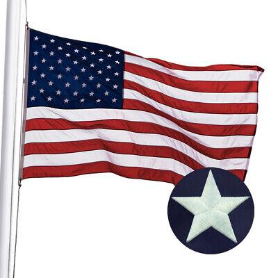 American Flag 4X6 Ft US Flag by U.S. Veterans Owned Biz. Heavyweight Nylon 2