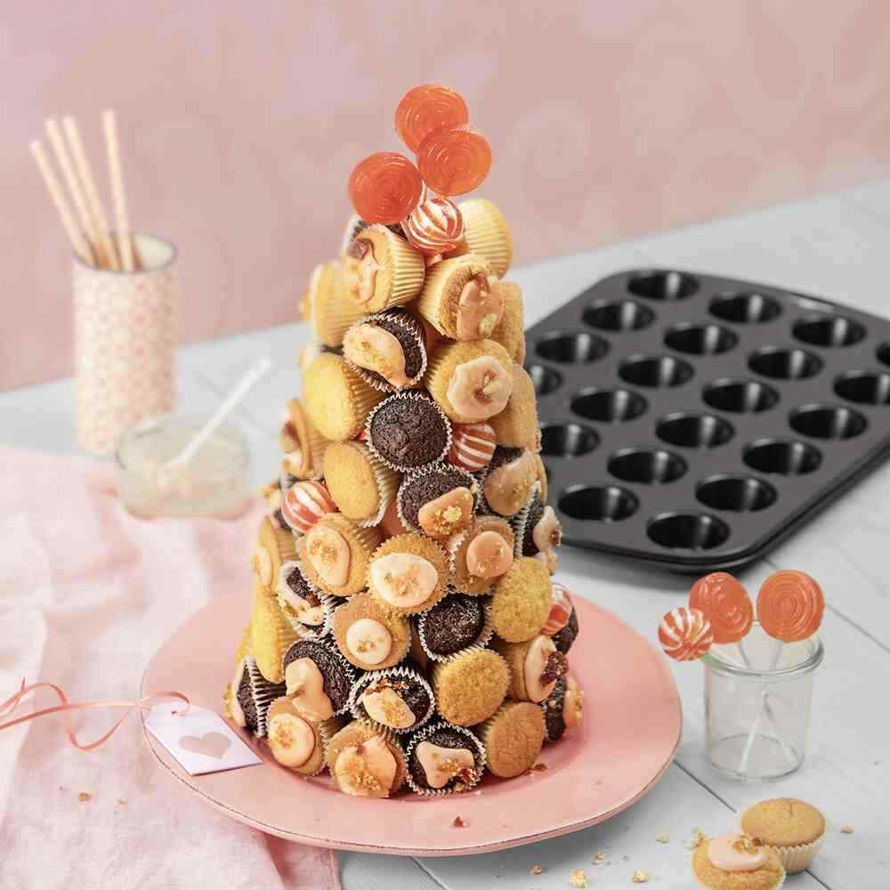 Original Kaiser Mini Muffin Form Muffin World 24 Muffins 646237 Baking Cupcake NE