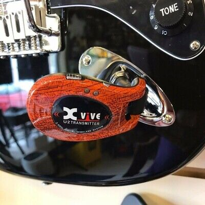 XVIVE XV-U2 Digital Wireless Guitar System 2.4Ghz Wood From Japan With Tracking 2