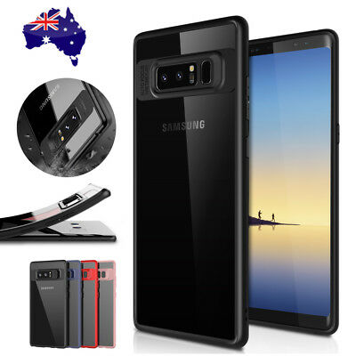 Samsung Galaxy S9 Slim Case S8 Plus Note 9 8 Luxury Shockproof Clear Back Cover 2