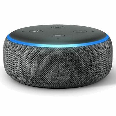 NEW Amazon Echo Dot 3rd Generation Smart speaker with Alexa - Black/Grey/White 5
