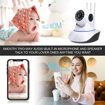 1080P WIFI IP Camera WHITE Wireless Outdoor CCTV HD Home Security IR Cam 2Mp 5
